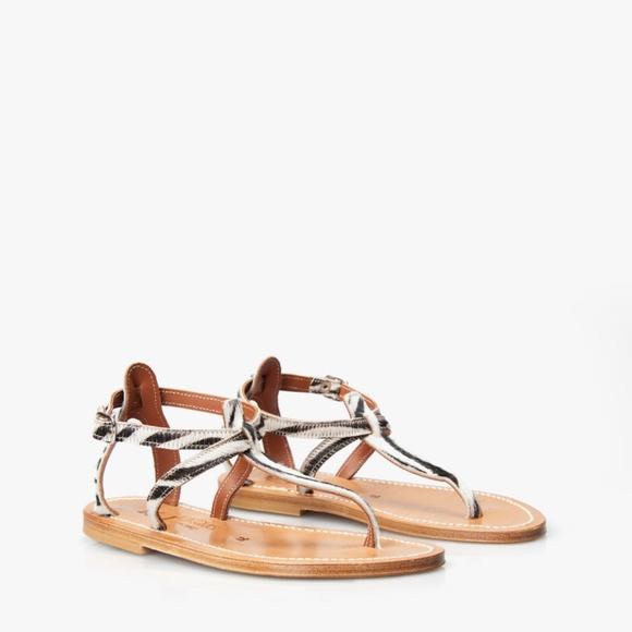 98a5f2f3f202 K. Jacques Shoes - K. Jacques St. Tropez Buffon Printed Zebra Sandals